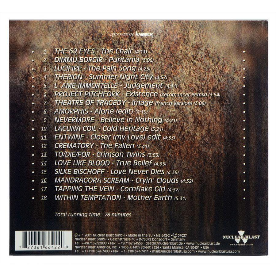 CD Beauty In Darkness Vol.5 - Coletânea Várias Bandas - Importado - Lacrado