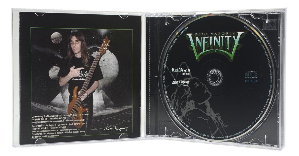 CD Beto Vazquez Infinity - Beto Vazquez Infinity - Lacrado
