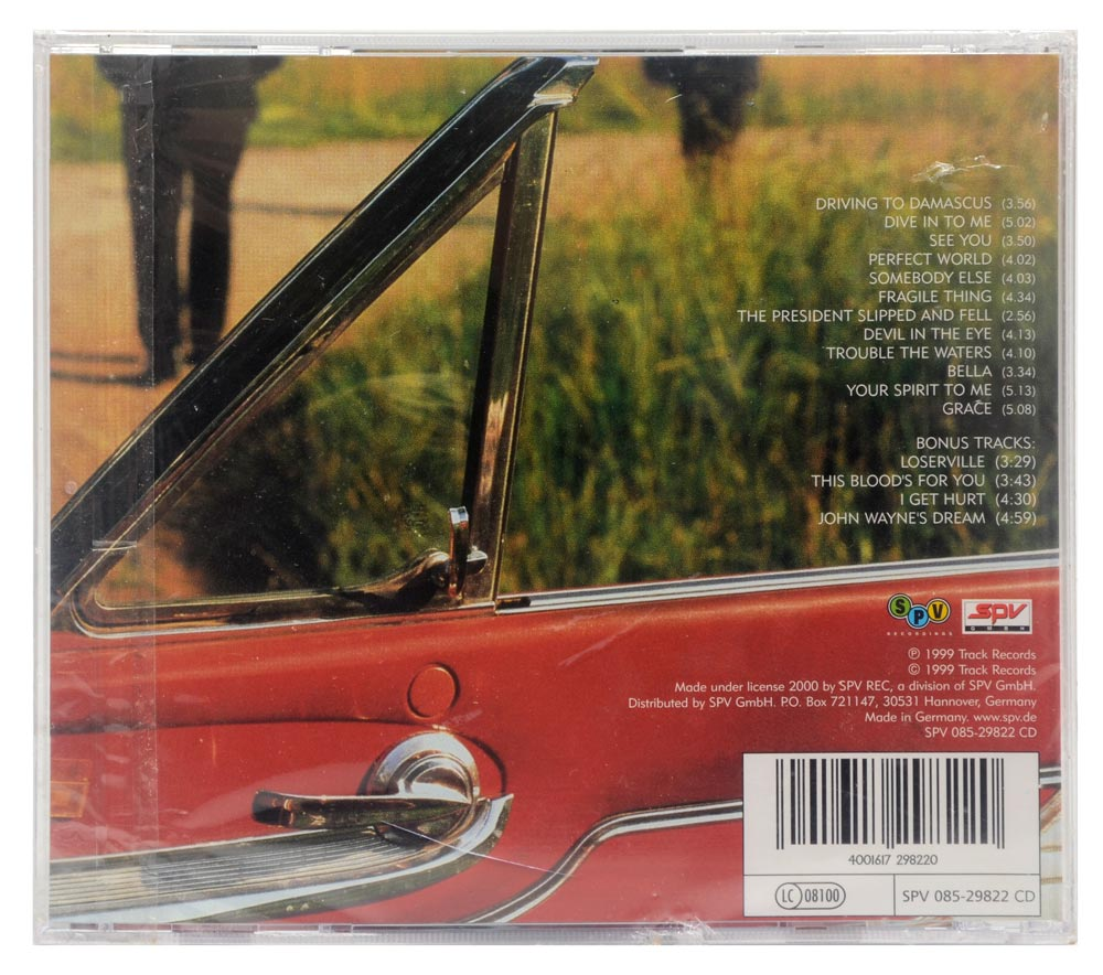 CD Big Country - Driving to Damascus - Importado Alemanha - Lacrado