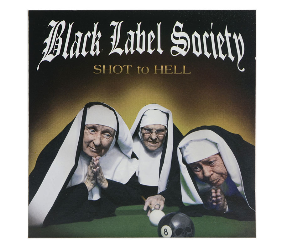 CD Black Label Society - Shot to Hell - Lacrado