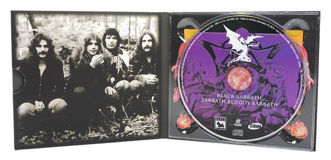 CD Black Sabbath - Sabbath Bloody Sabbath - Digipack - Lacrado