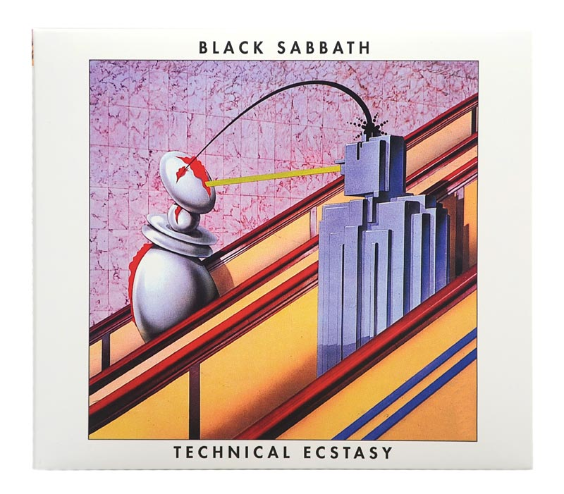 CD Black Sabbath - Technical Ecstasy - Digipack - Lacrado