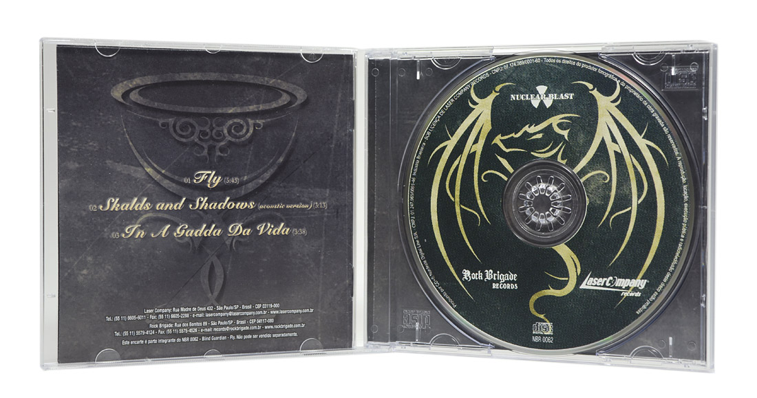 CD Blind Guardian - Fly - Lacrado