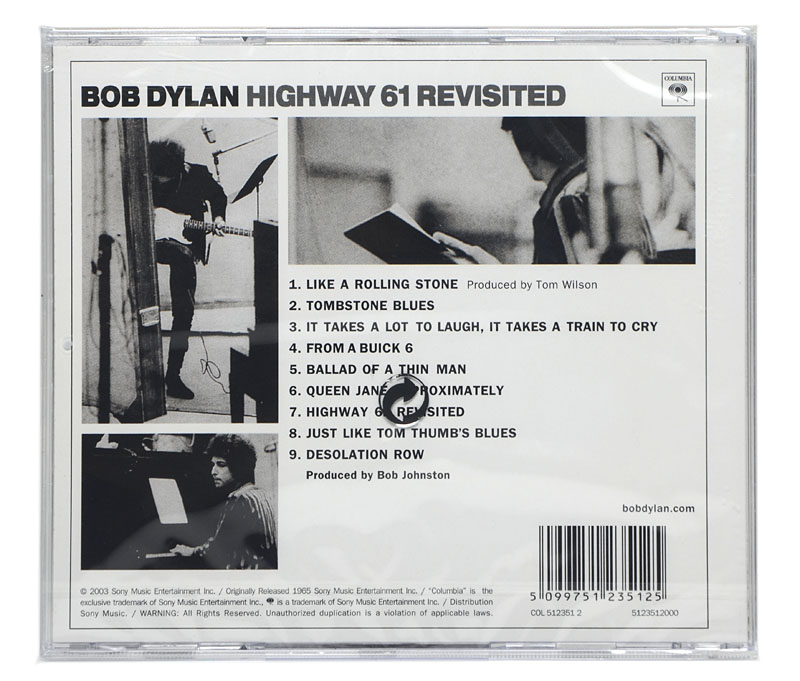 CD Bob Dylan - Highway 61 Revisited - Importado - Lacrado