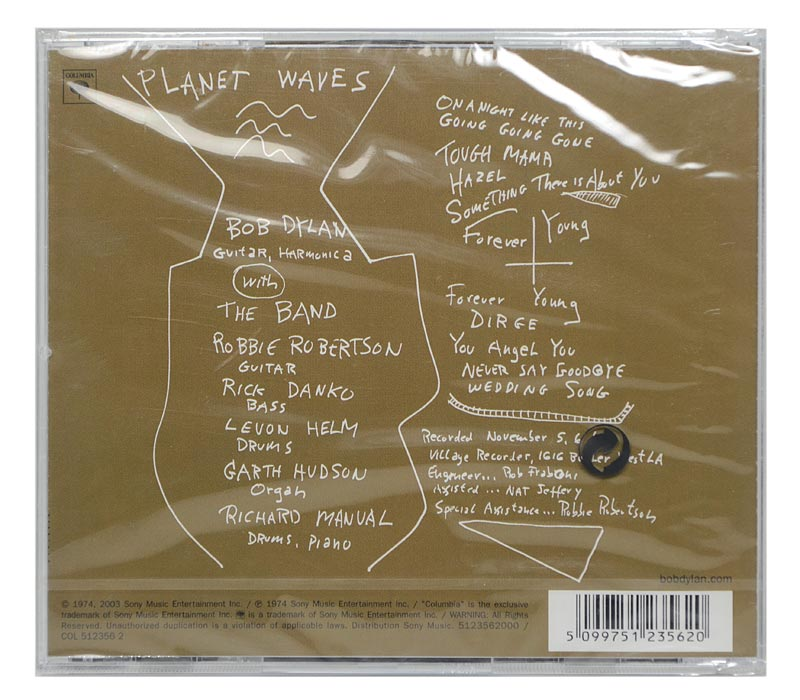 CD Bob Dylan - Planet Waves - Importado - Lacrado