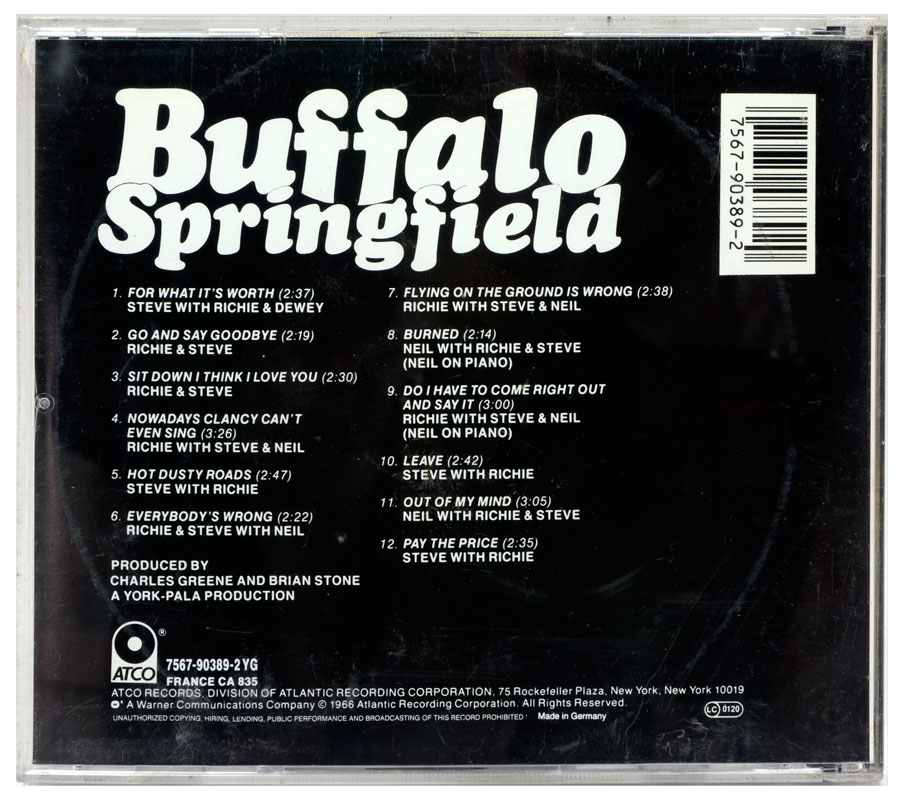 CD Buffalo Springfield - Buffalo Springfield - Importado