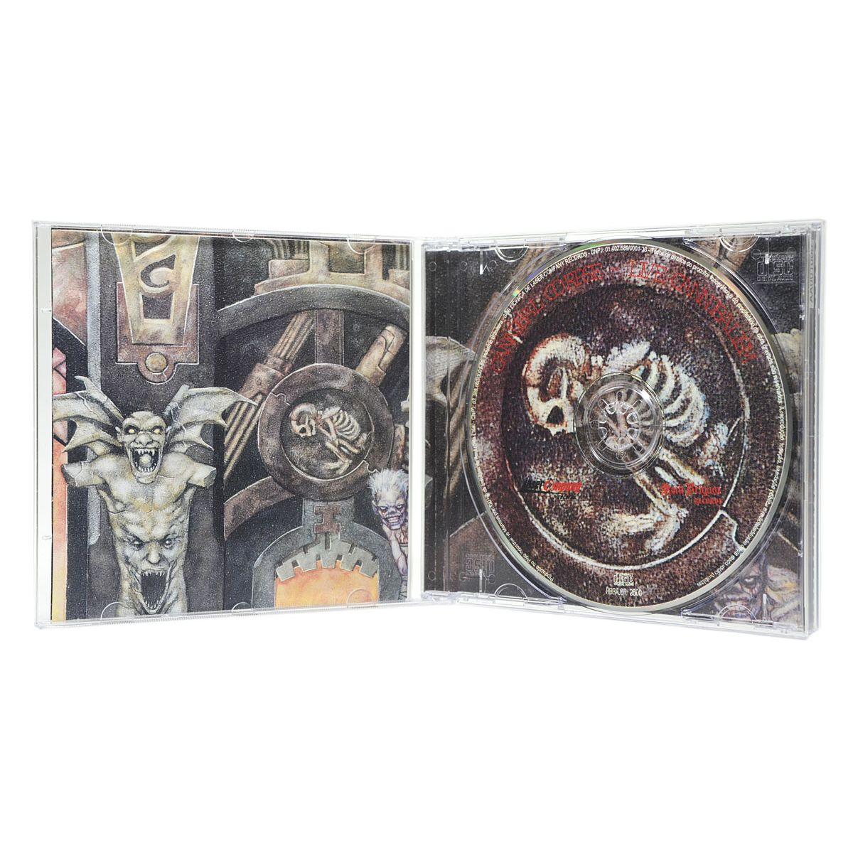 CD Cannibal Corpse - Live Cannibalism - Lacrado