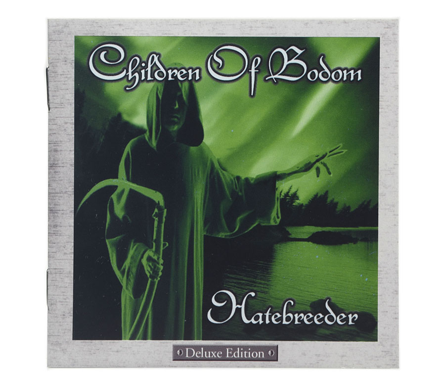 CD Children Of Bodom - Hatebreeder - Lacrado