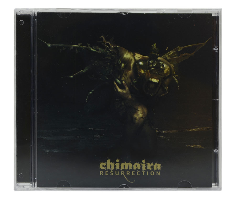 CD Chimaira - Resurrection - Lacrado