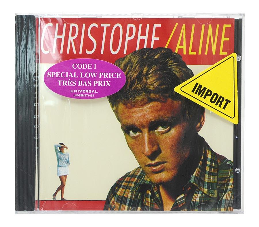 CD Christophe - Aline - Importado Canada - Lacrado