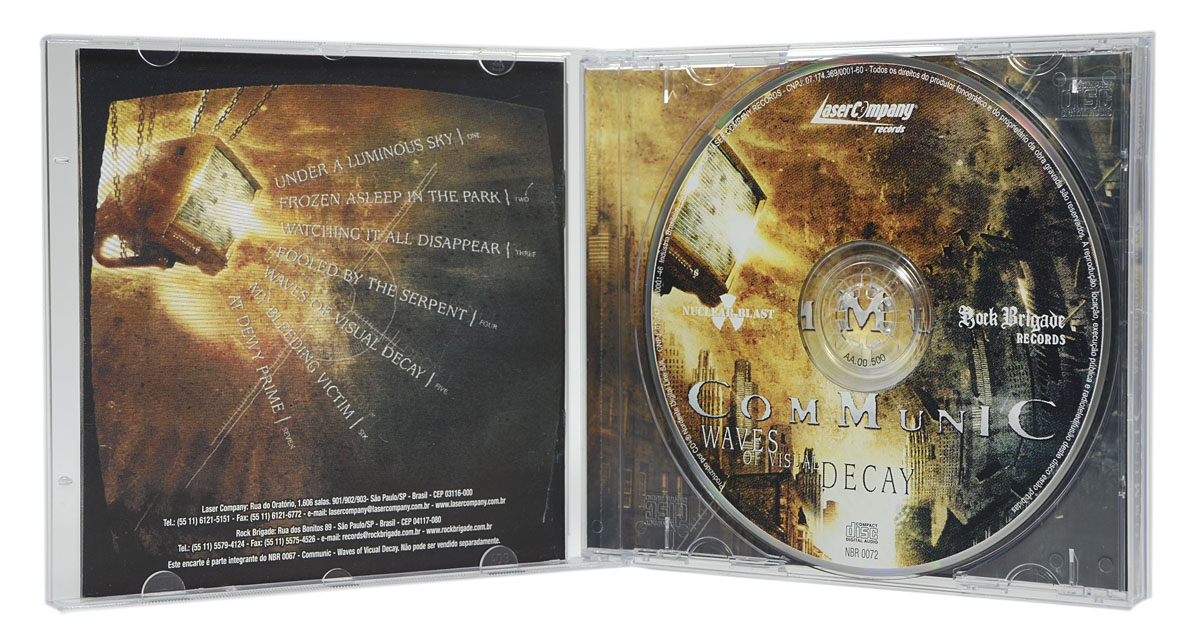 CD Communic - Waves Of Visual Decay - Lacrado