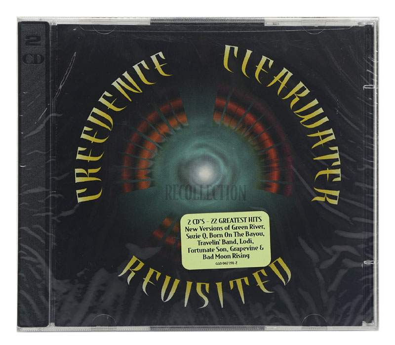 CD Creedence Clearwater Revisited - Recollection - Duplo - Importado - Lacrado