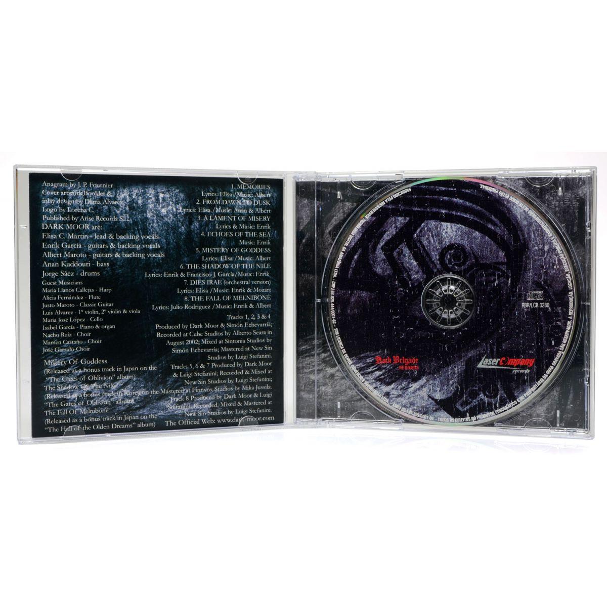 CD Dark Moor - Between Light & Darkness - Lacrado