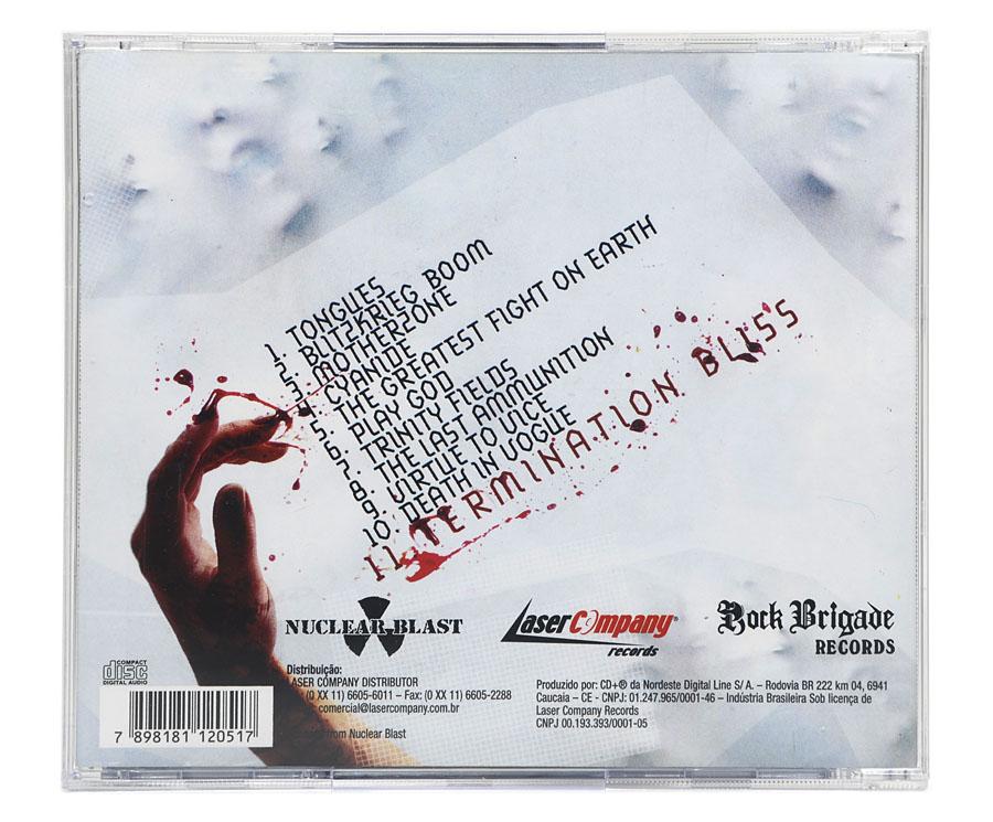 CD Deathstars - Termination Bliss - Lacrado