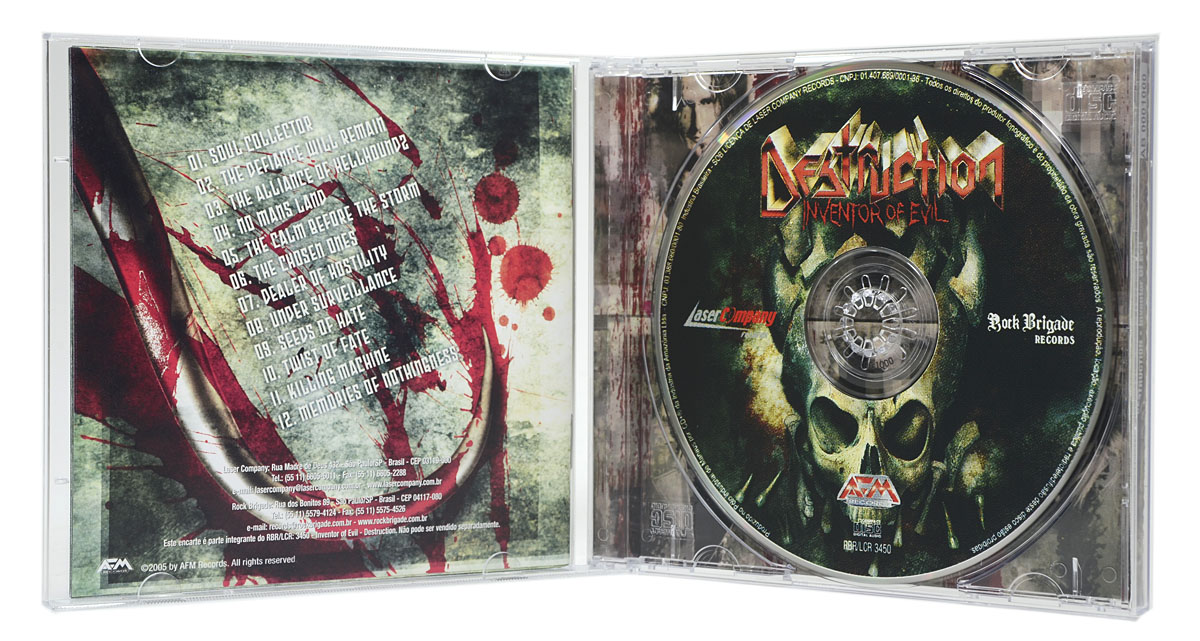 CD Destruction - Inventor Of Evil - Lacrado