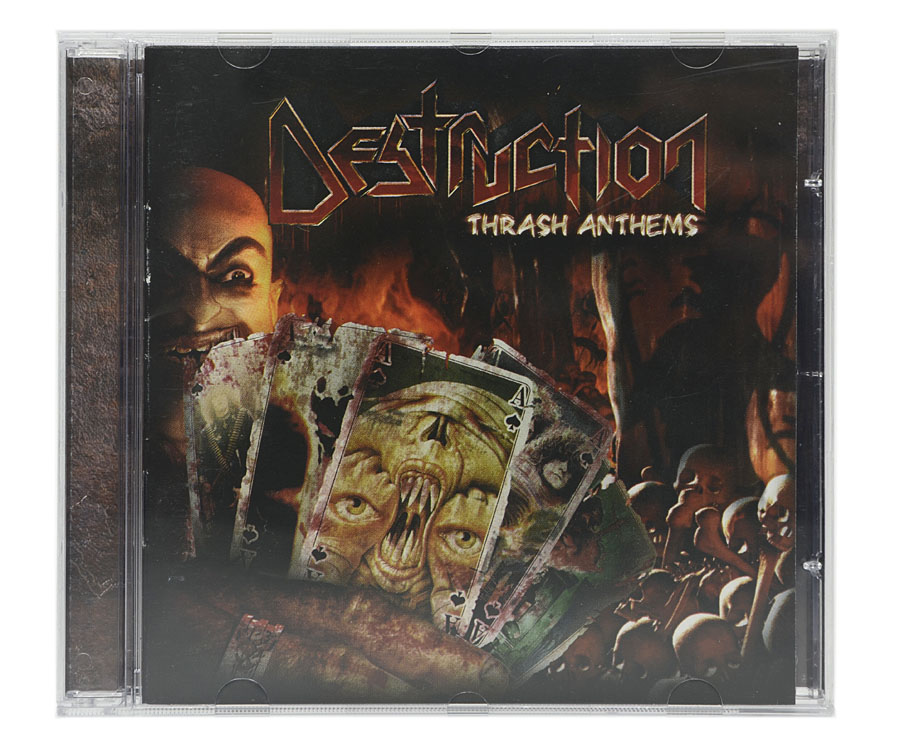 CD Destruction - Trash Anthems - Lacrado