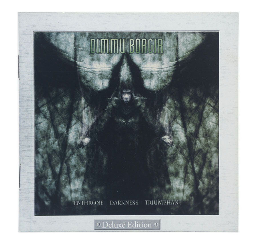 CD Dimmu Borgir - Enthrone Darkness Triumphant - Deluxe Edition - Lacrado