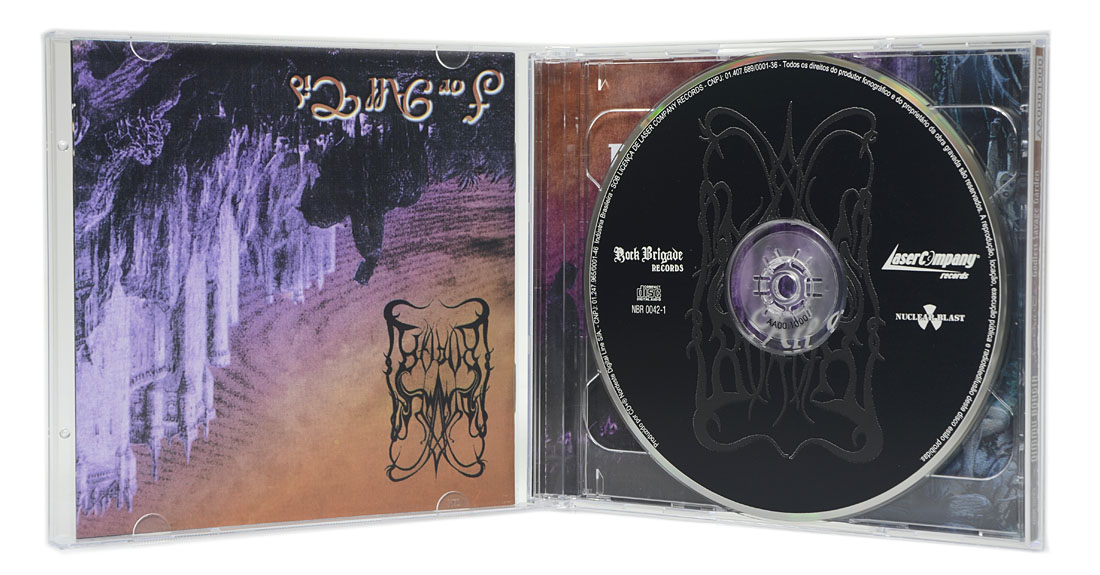 CD Dimmu Borgir - Godless Savage Garden + For All Tid (CD Duplo) - Lacrado