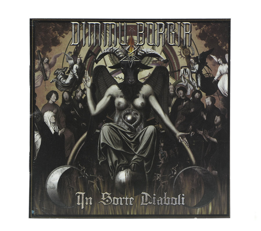 CD Dimmu Borgir - In Sorte Diaboli - Lacrado