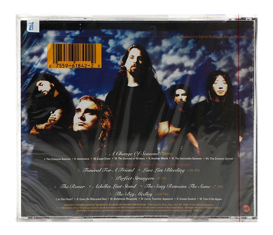 CD Dream Theater - A Change Of Seasons - Importado - Lacrado