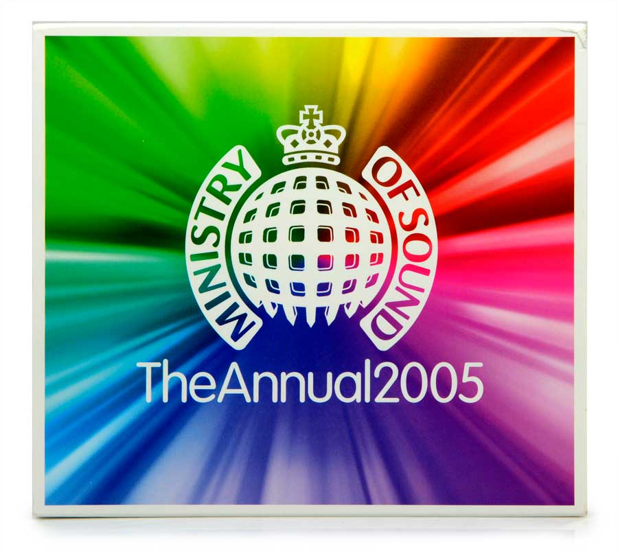 CD Duplo Ministry Of Sound The Annual 2005 - Importado - Lacrado