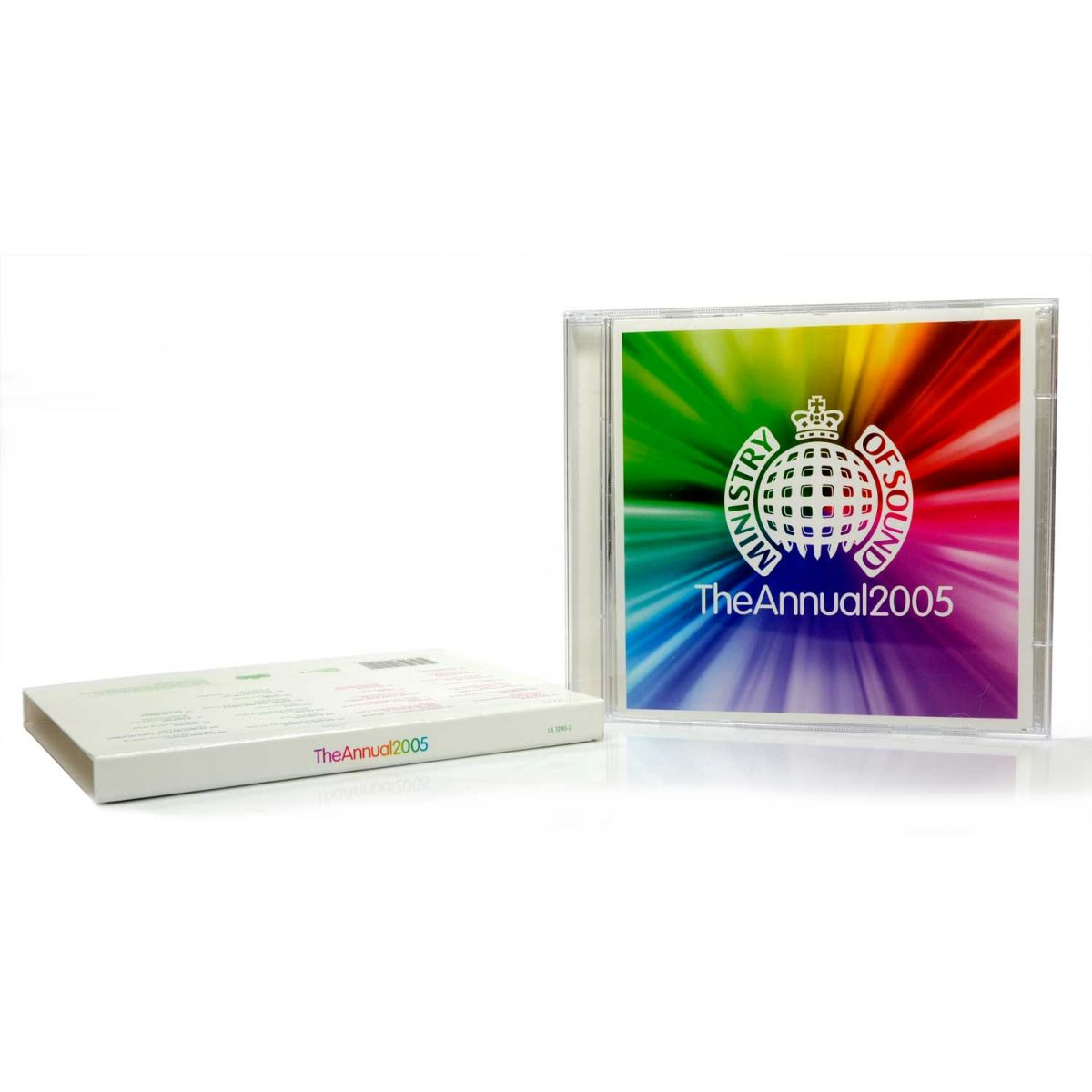 CD Duplo Ministry Of Sound The Annual 2005 - Importado - Lacrado