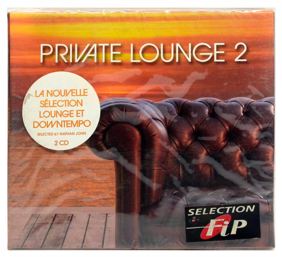CD Duplo Private Lounge 2 - Vários Artistas - Música Eletrônica Deep House Breaks Downtempo - Importado - Lacrado