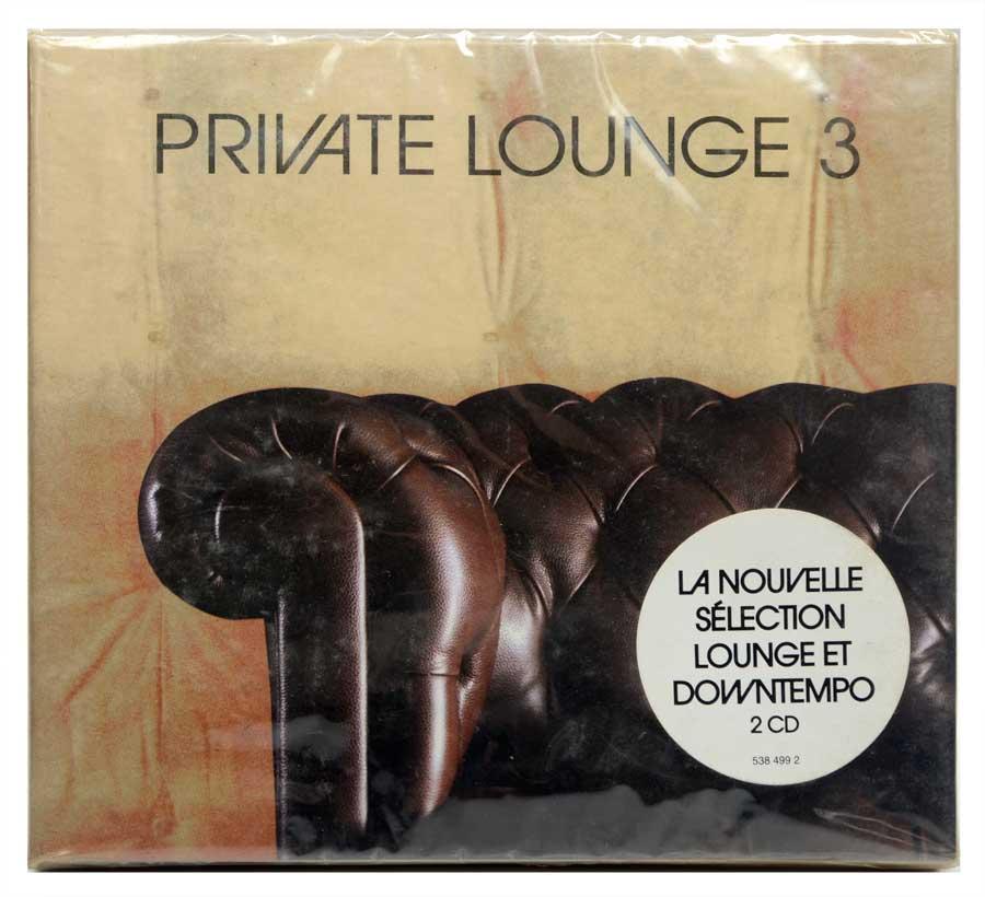 CD Duplo Private Lounge 3 - Vários Artistas - Música Eletrônica Downtempo Breaks Deep House - Importado - Lacrado