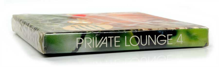 CD Duplo Private Lounge 4 - Vários Artistas - Música Eletrônica Deep House Future Jazz Downtempo - Importado - Lacrado