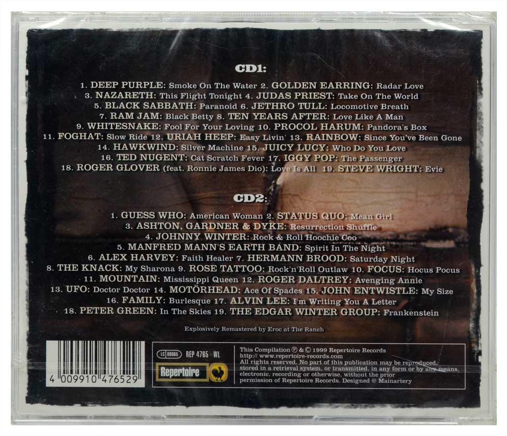CD Duplo Rock Classics - The Heavyweights - Importado - Lacrado