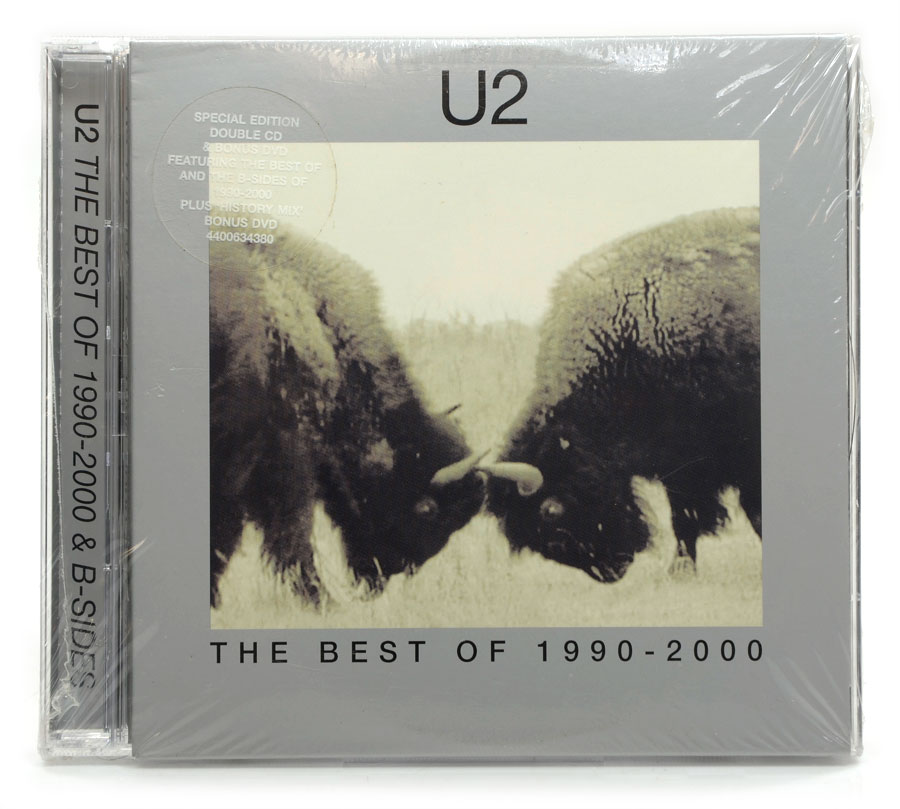 CD Duplo - U2 - The Best of 1990-2000 & B-Sides - Importado - Lacrado