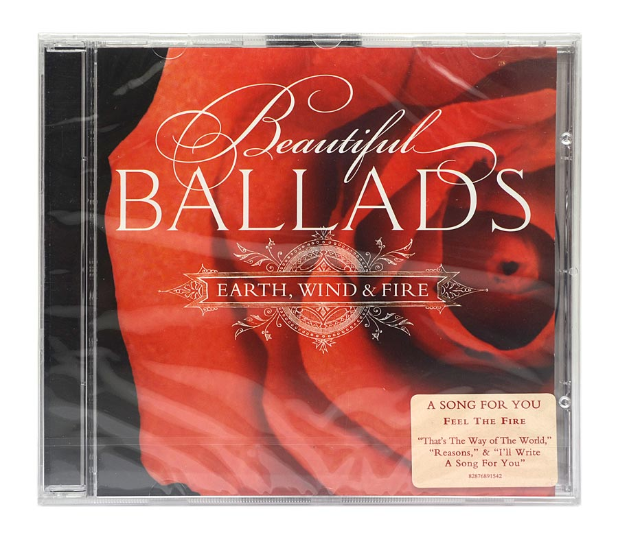 CD Earth, Wind & Fire - Beautiful Ballads - Importado - Lacrado