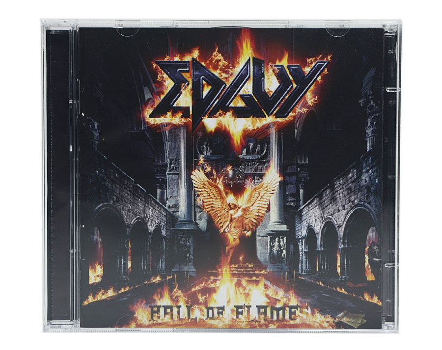 CD EDGUY - Hall Of Flames (The Best And The Rare) - CD Duplo - Lacrado