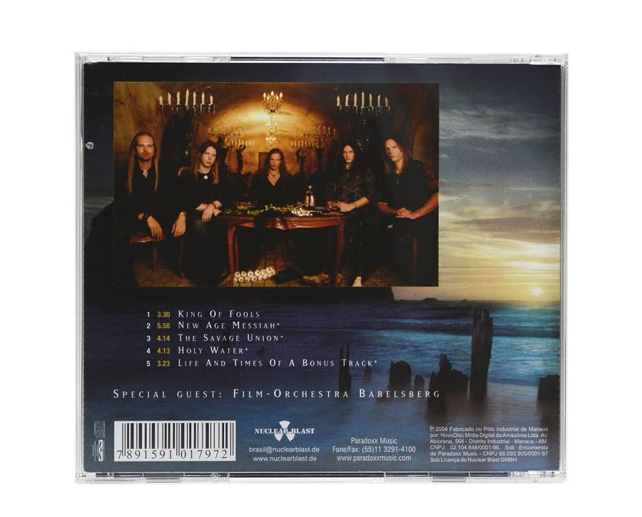 CD EDGUY - King of Fools - Lacrado