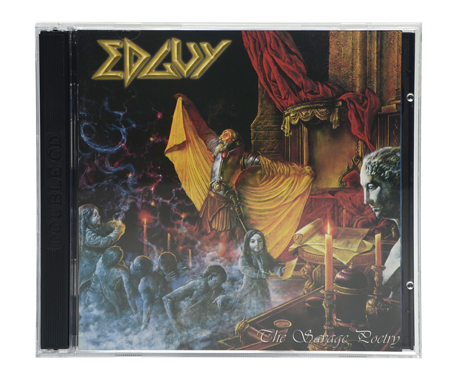 CD EDGUY - The Savage Poetry (CD Duplo) - Lacrado