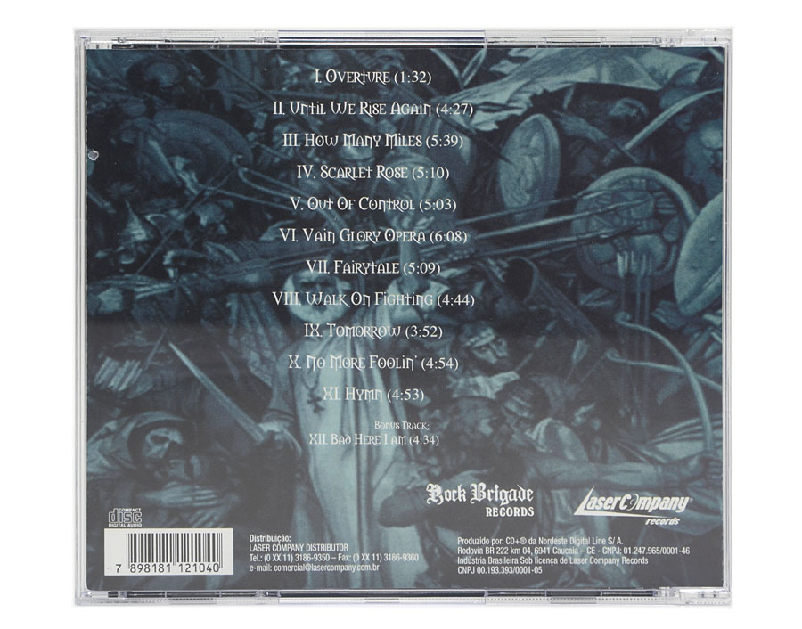 CD EDGUY - Vain Glory Opera - Lacrado