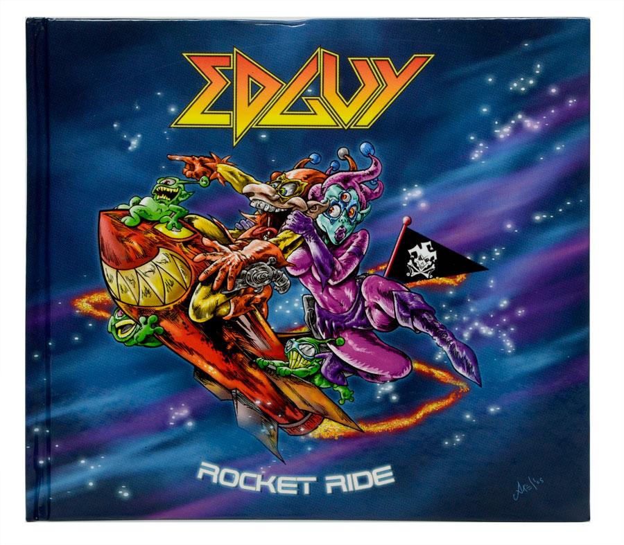 CD Edição Limitada Livreto Edguy - Rocket Ride - Lacrado