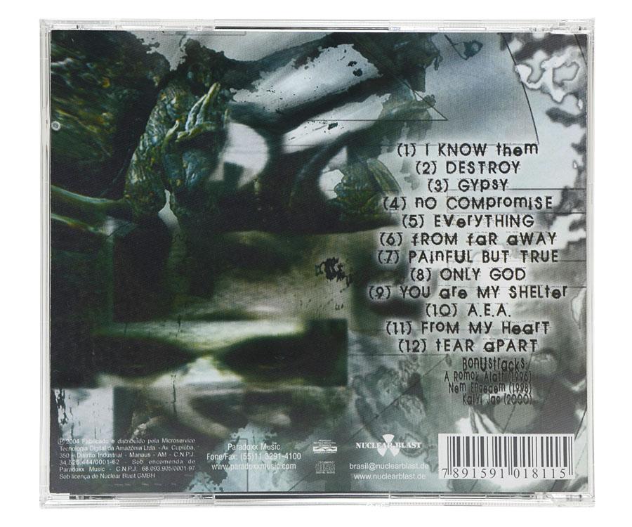 CD Ektomorf - Destroy - Lacrado