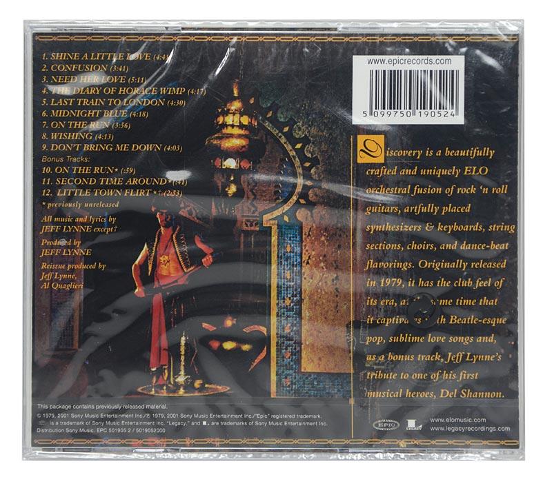 CD Electric Light Orchestra - Discovery - Importado - Lacrado