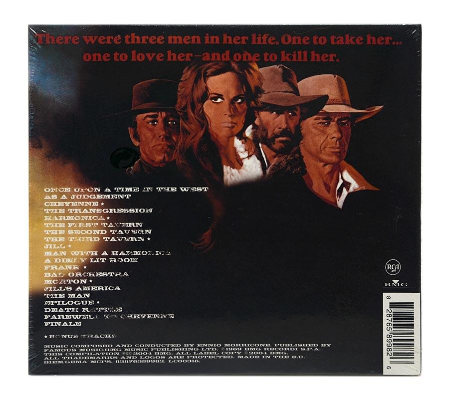 CD Ennio Morricone - Once Upon A Time In The West - Digipack Importado EU - Lacrado