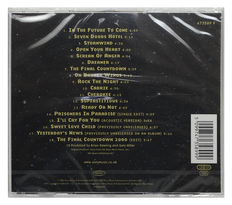 CD Europe - 1982-2000 - Importado - Lacrado