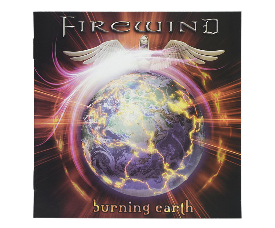 CD Firewind - Burning Earth - Lacrado