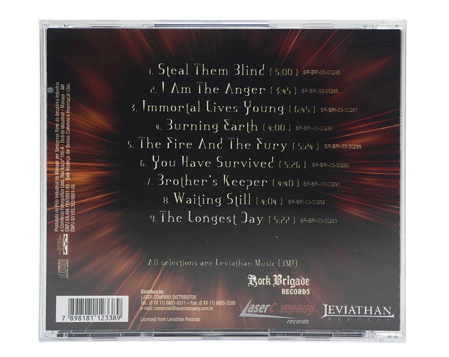 CD Firewind - Burning Earth - Lacrado
