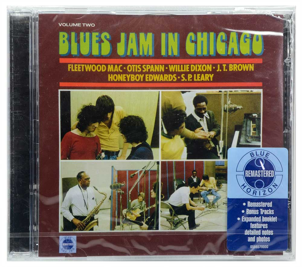 CD Fleetwood Mac Blues Jam In Chicago - Vol.2 - Lacrado - Importado