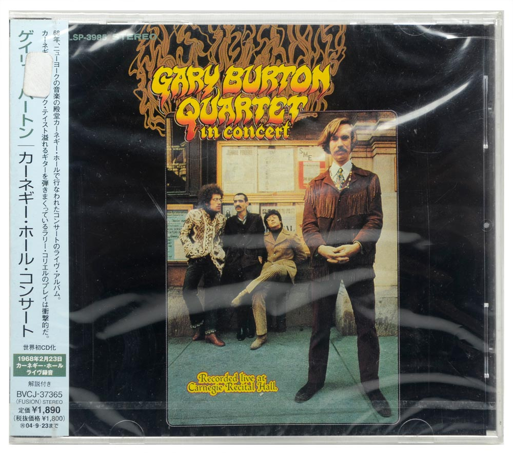 CD Gary Burton Quartet In Concert - Importado - Lacrado