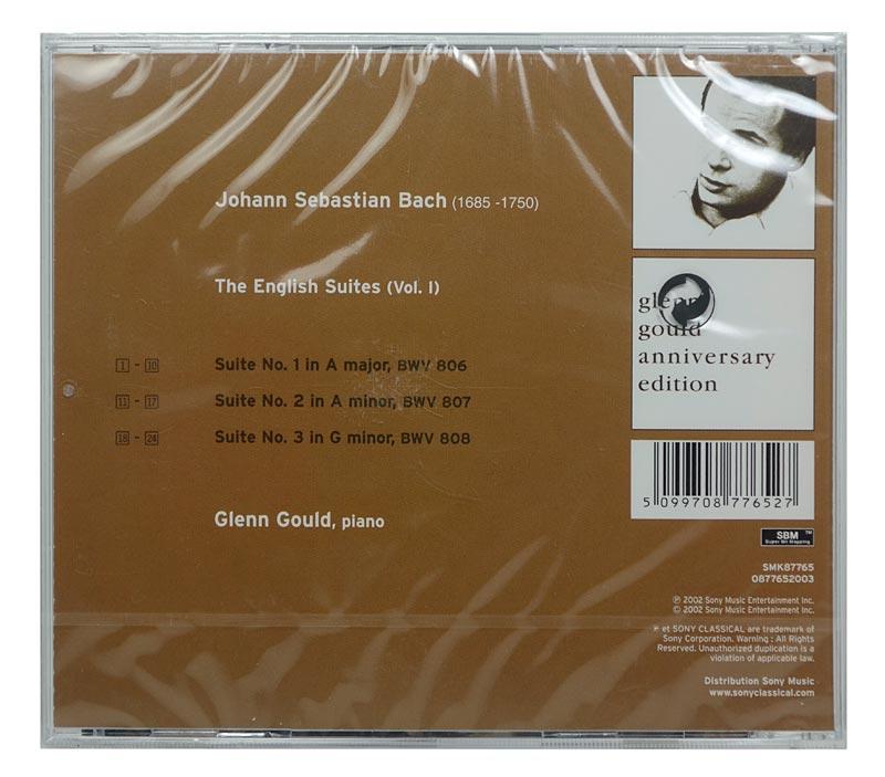 CD Glenn Gould - Bach: The English Suites - Vol.1 - Importado - Lacrado
