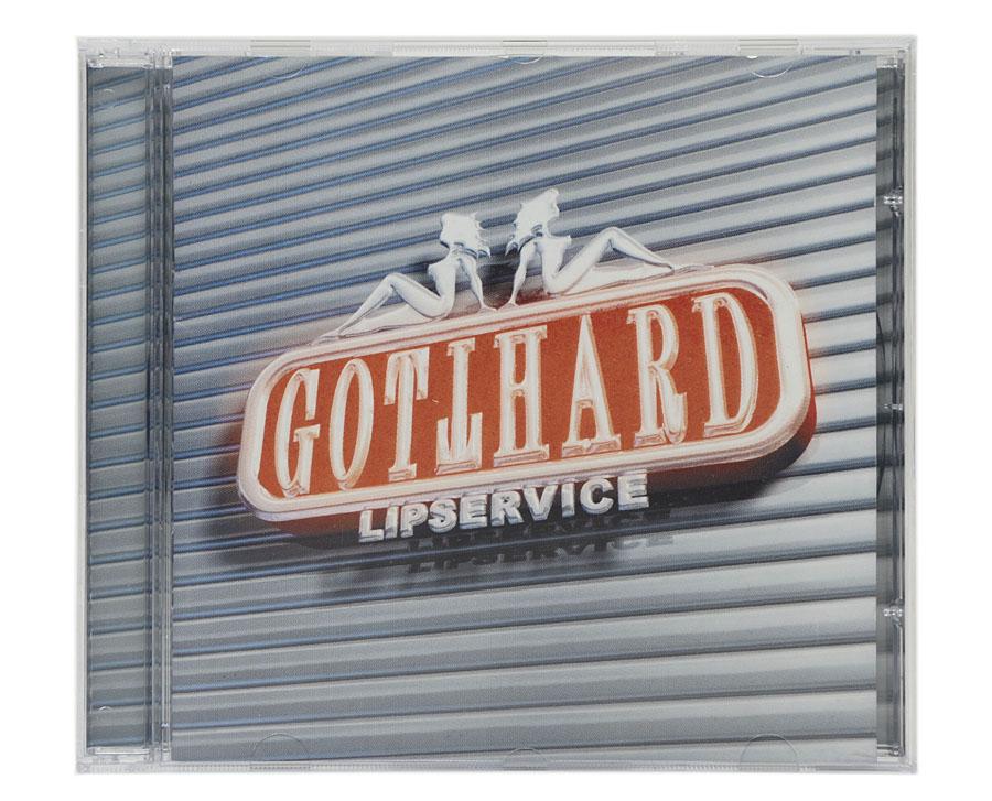 CD Gotthard - Lipservice - Lacrado