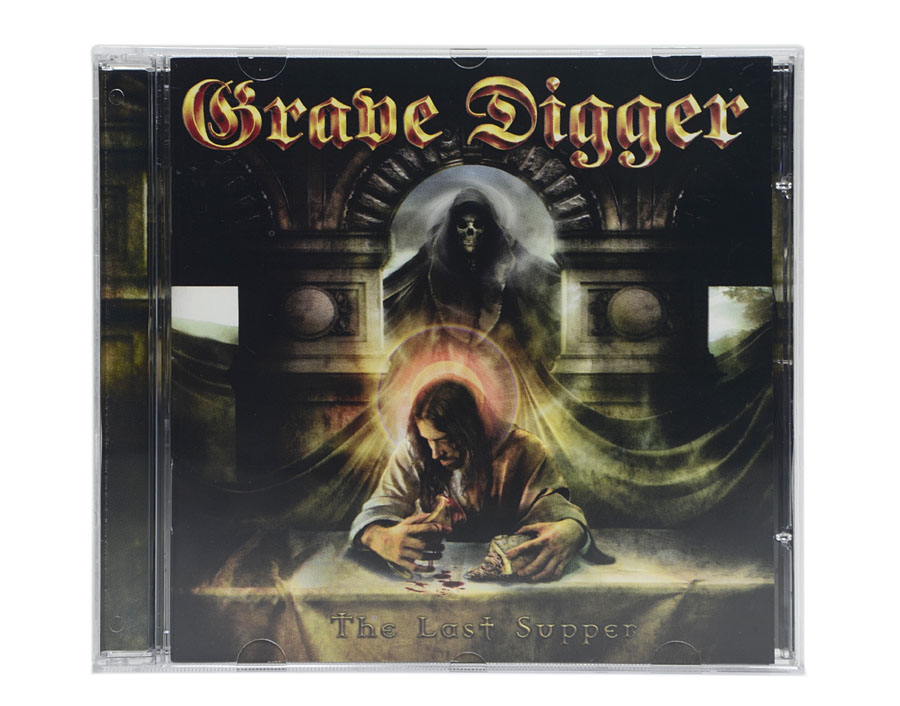 CD Grave Digger - The Last Supper - Lacrado