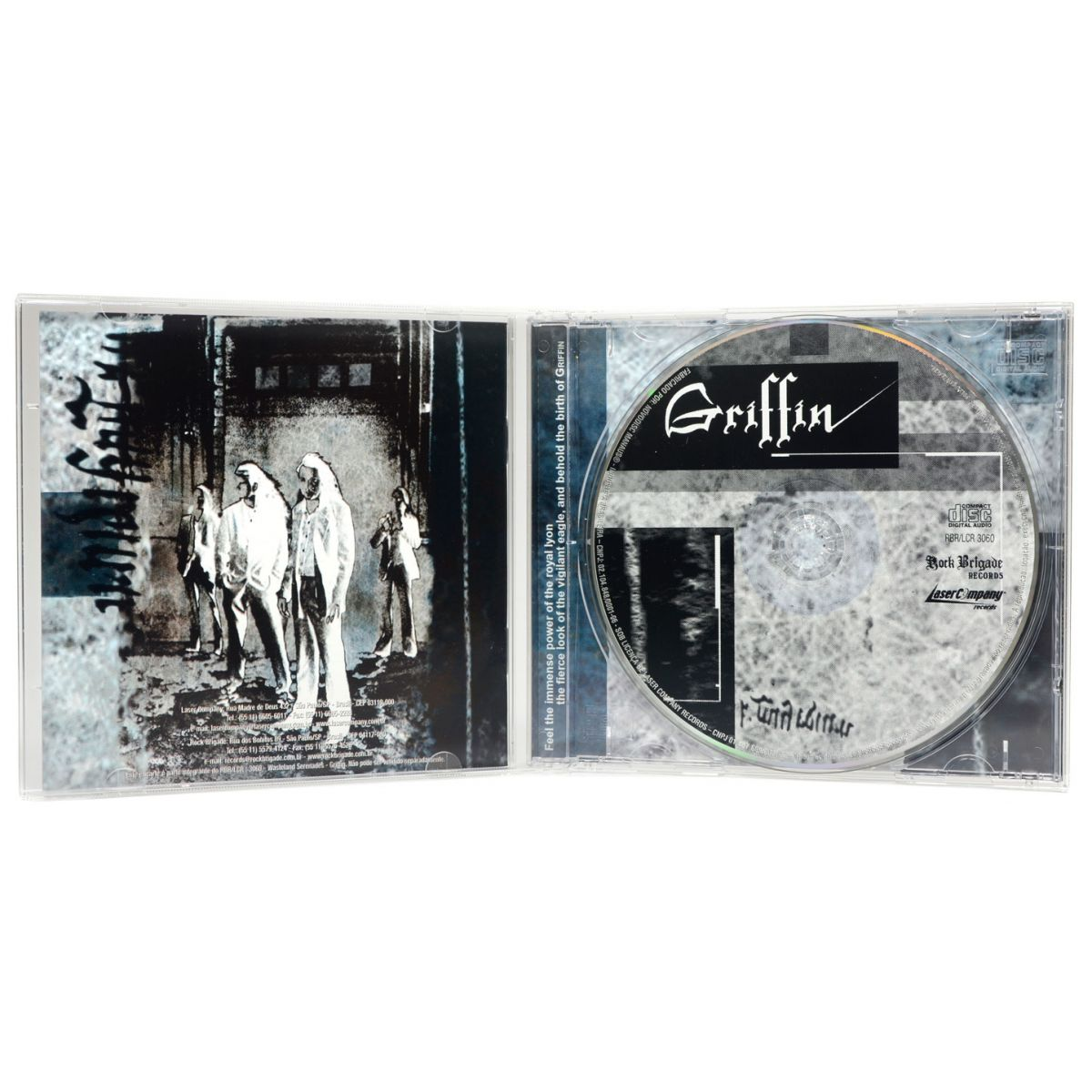 CD Griffin - Wasteland Serenades - Lacrado
