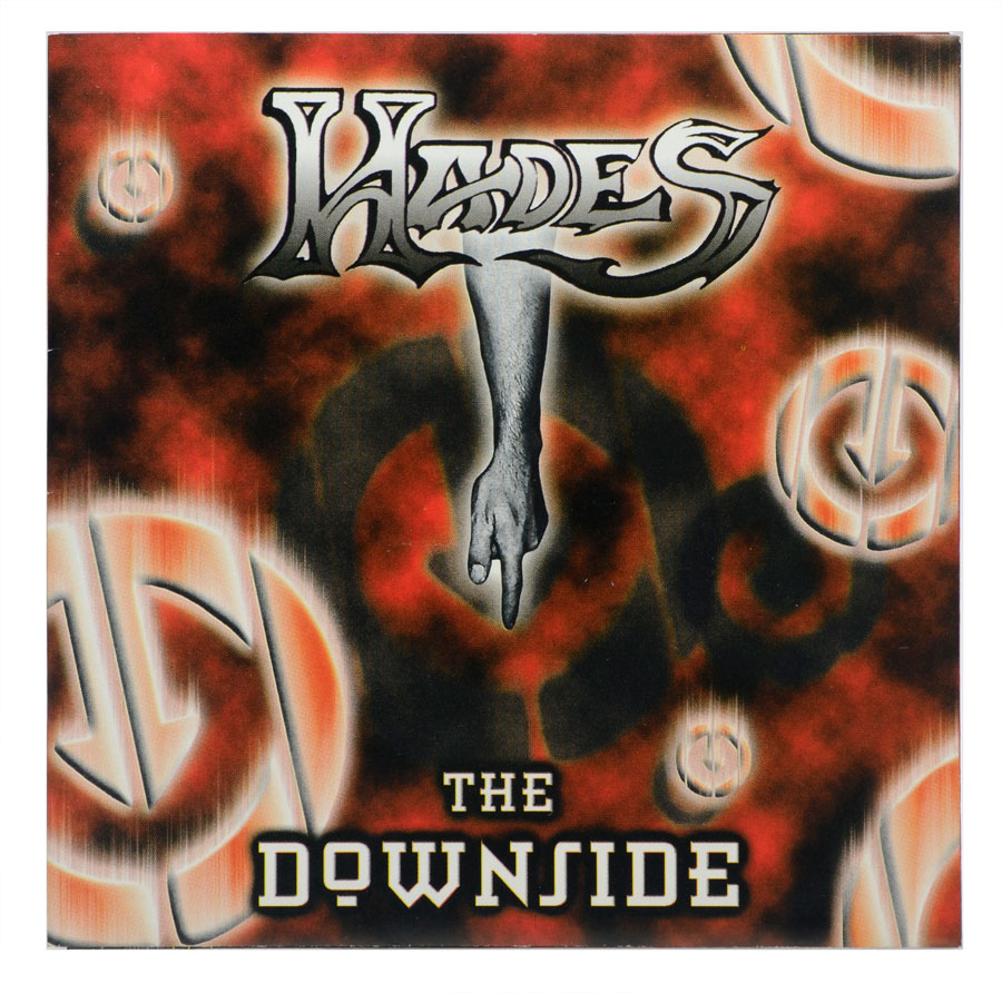 CD Hades - The Downside - Lacrado